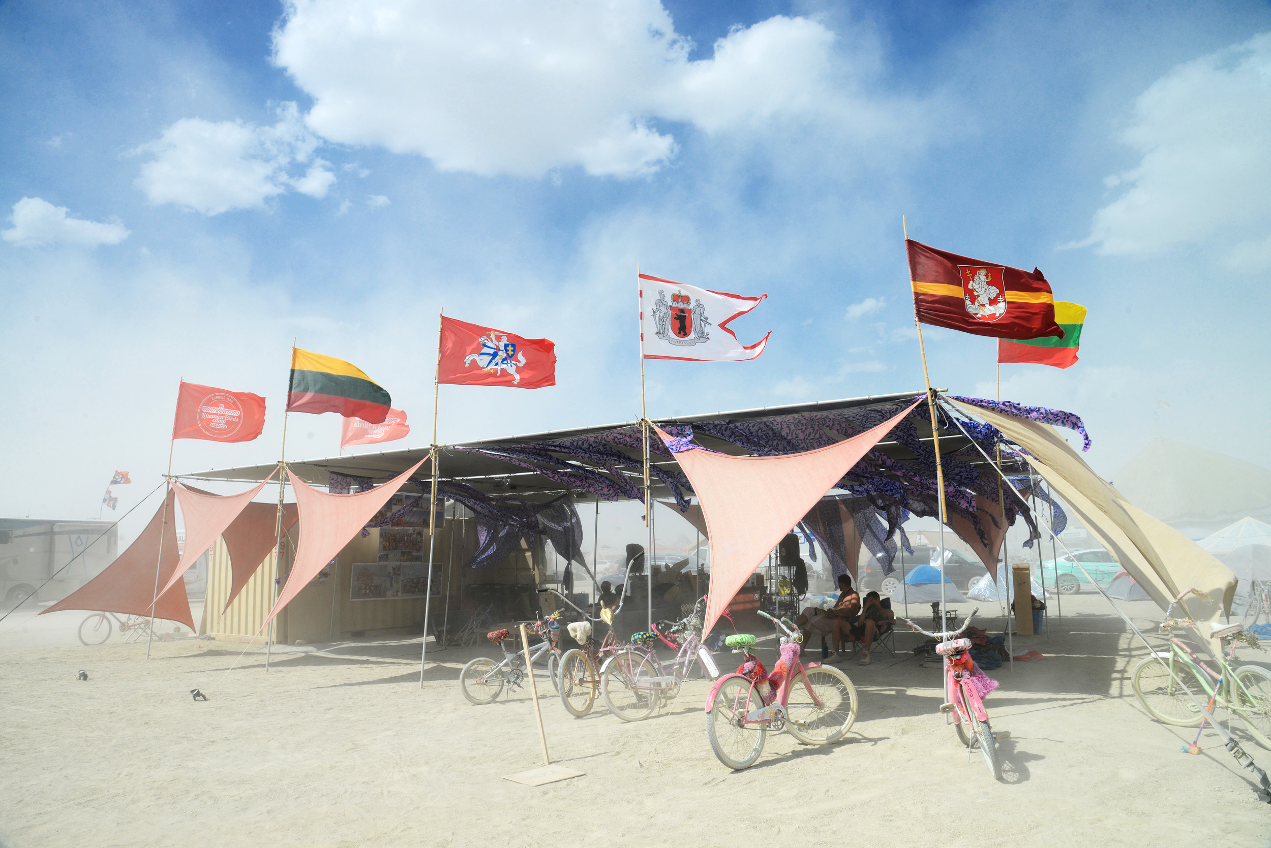 Lituanica Birds Camp. Burning Man 2017